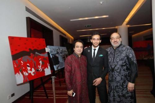 Govind Kanhai, Arjun Kanhai and Padma Shri Krishn Kanhai