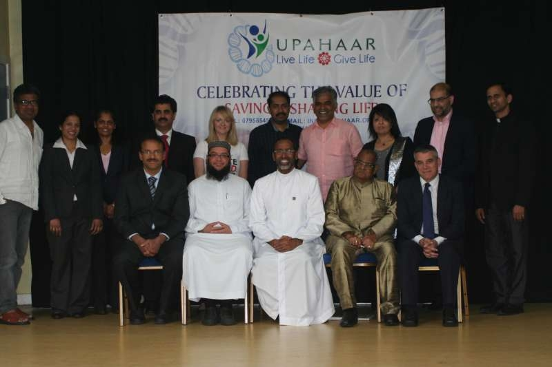 Charity Upahaar promoting organ and stem cell donation among  BAME communtiies