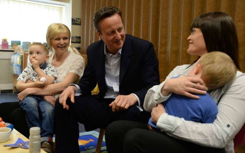 Great to meet mums and children at Stepping Stones nursery - telling them about our plan for 30 hours free childcare.
