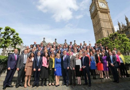 new cameron cabinet