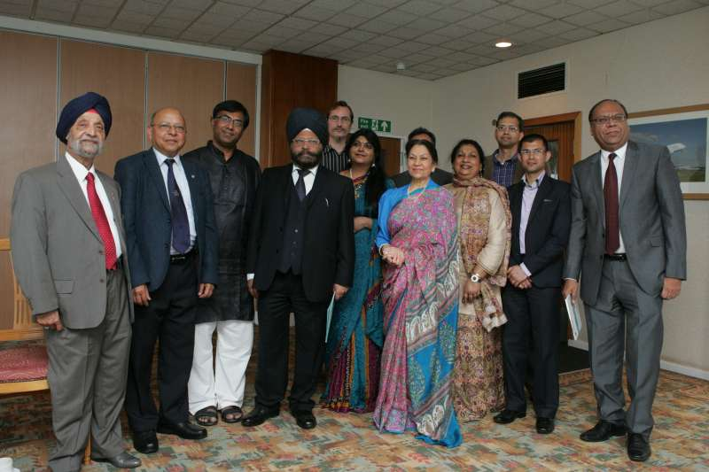 Guestss and organisers during th launch of Shruthi's Carnatic Choir