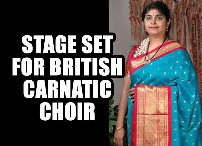 Chithra Ramakrishnan - British Carnatic Music -