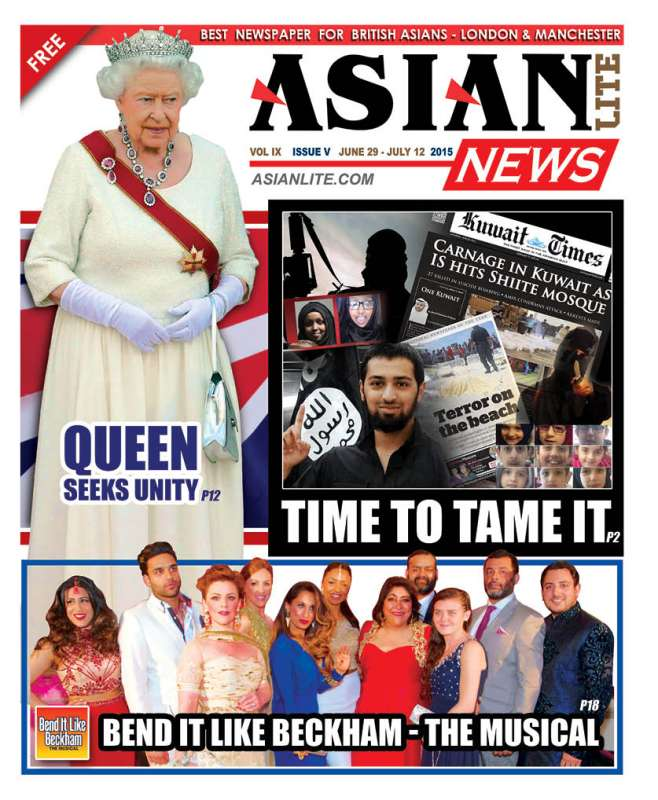 Queen on Asian Lite News Cover