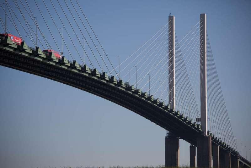 Dartford Bridge in London
