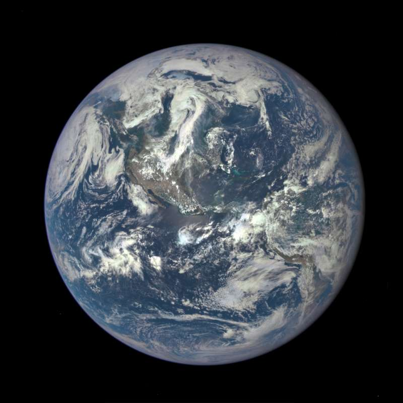 View of Earth taken by a NASA telescope