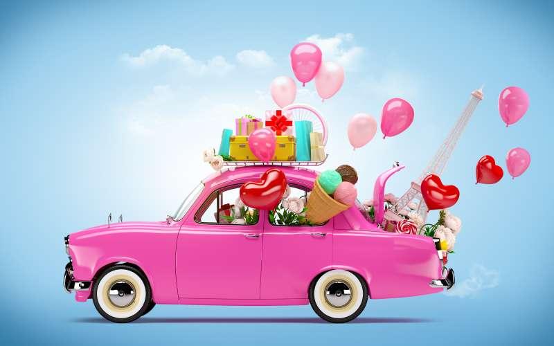 Car Travel Women Love