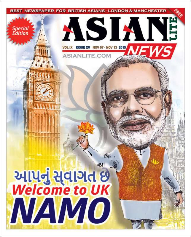 Asian Lite will produce a special edition on Modi's UK visit