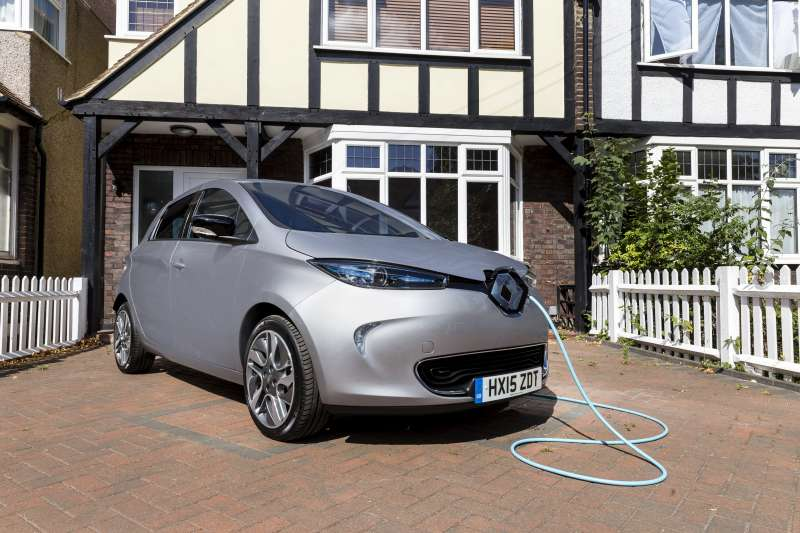 Renault ZOE home charging_2 - Motorists could save £750 per year in tax and fuel by switching to ultra-low emission vehicles