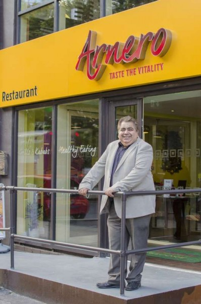 Sanjeev Toteja Manchester's industrial caterer, 'dhaba' owner and cofounder of Arnero