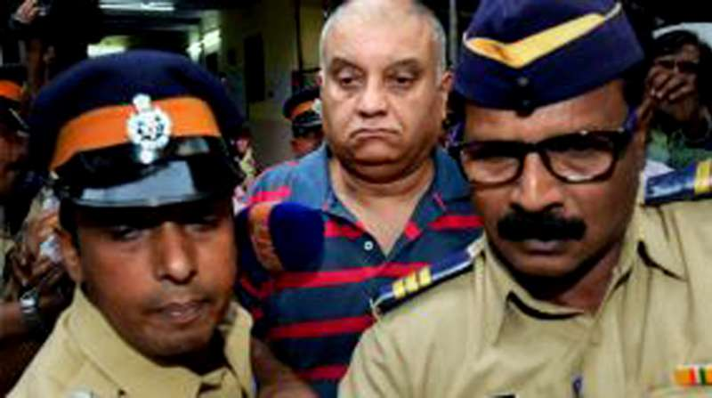 Former Star India CEO Peter Mukherjea, husband of Indrani Mukherjea who was detained on charges of killing Sheena Bora, arrives at Khar Police Station in Mumbai,