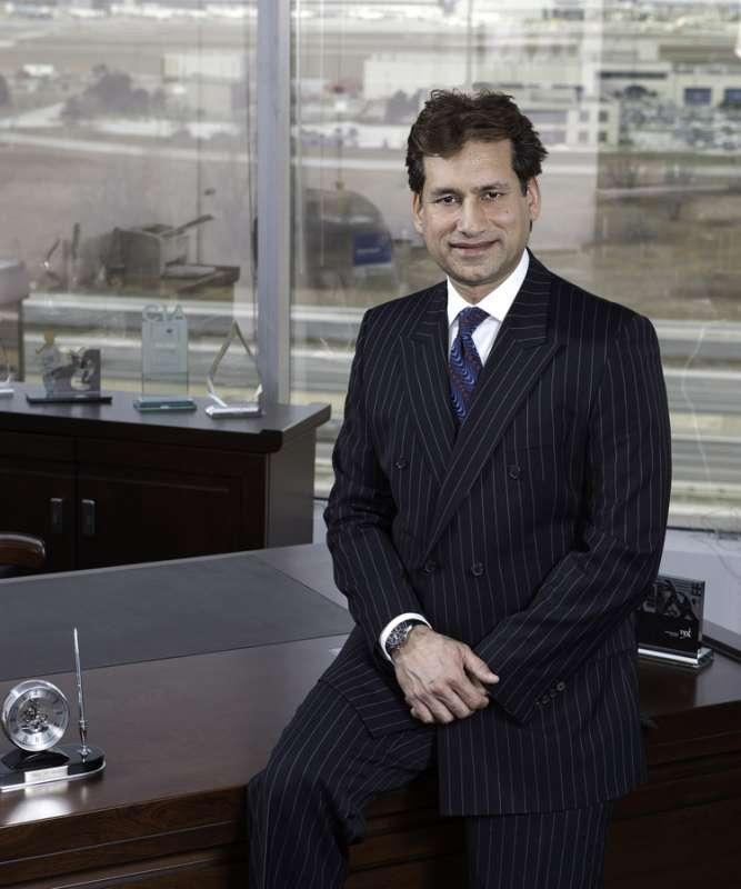 Bhim Asdhir in his Toronto office