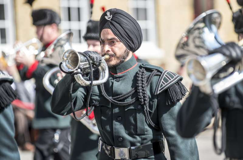 British Armed Forces commemorate Sikh service within the armed forces on the anniversary of the battle of saragarhi