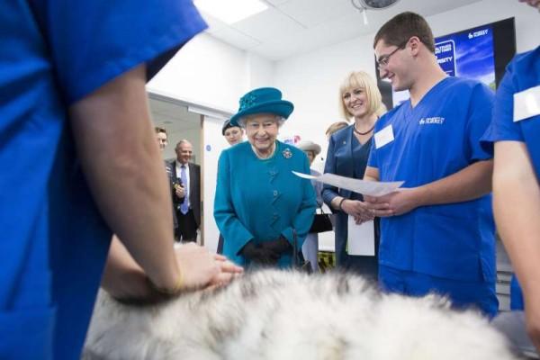 2_Queen Opens the School of Veterinary Medicine at the University of Surrey