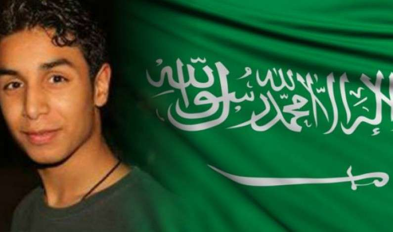 Saudi death row inmate Ali Mohammed al-Nimr. Ali is facing death by beheading and crucification