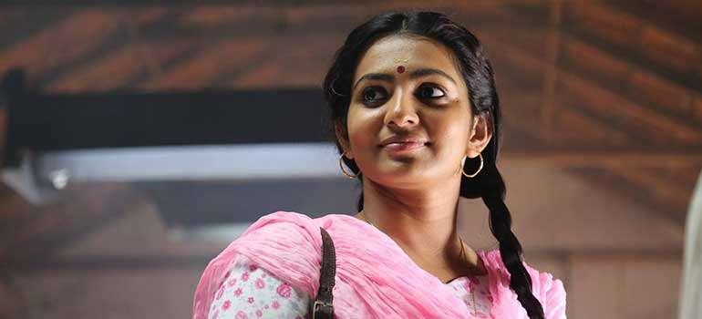 Budding actress Parvathi as Kanchana in the movie