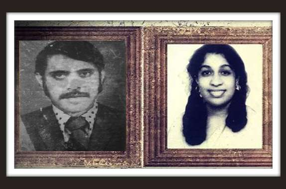 Moideen and Kanchana - Porraits from the college days