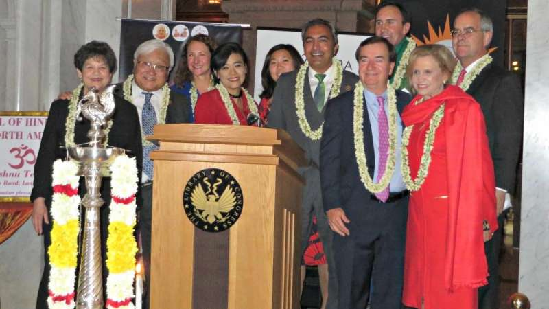 US lawmakers at the annual Diwali event on Capitol Hill, the seat of US legislature, to celebrate the accomplishments of the Indian American diaspora in Washington