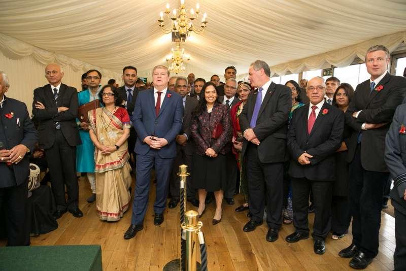 Dignitaries present at Diwali in Parliament