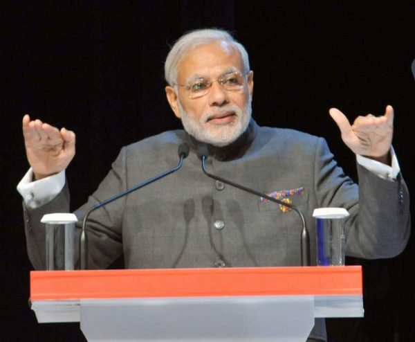 Prime Minister Narendra Modi addressing at the ASEAN Business and Investment Summit 2015, at Kuala Lumpur, in Malaysia