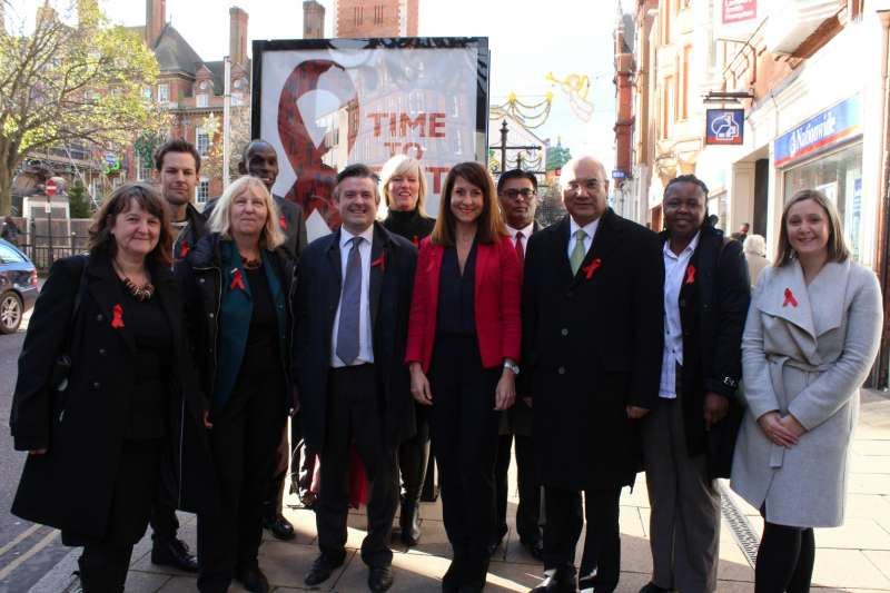 Leicester MPs support the campaign for early detection of HIV