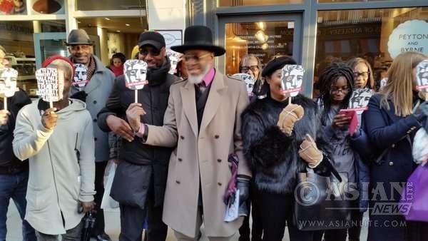 BAFTA protest