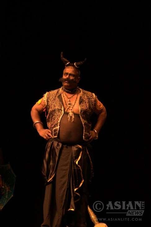 Bruno as Kalan in Kalikalapuri