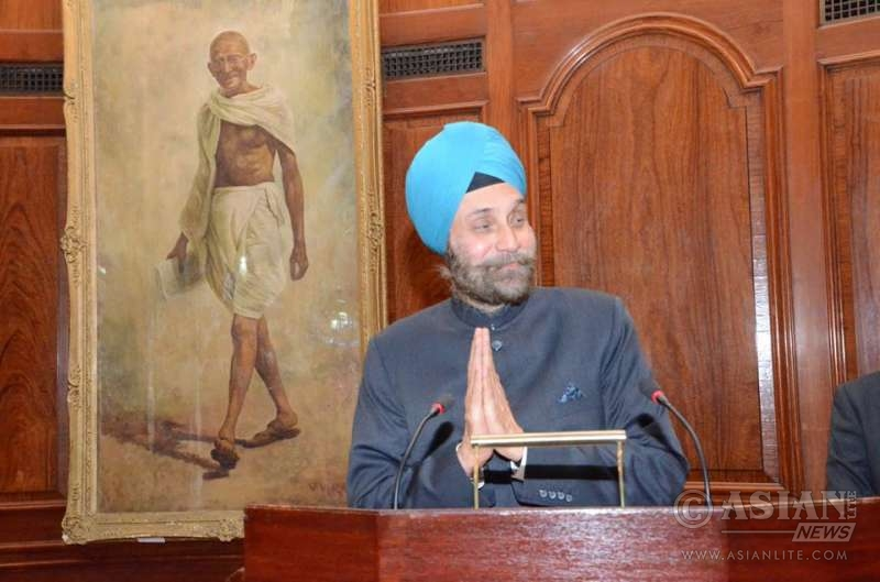 Indian High Commissioner Navtej Singh Sarna