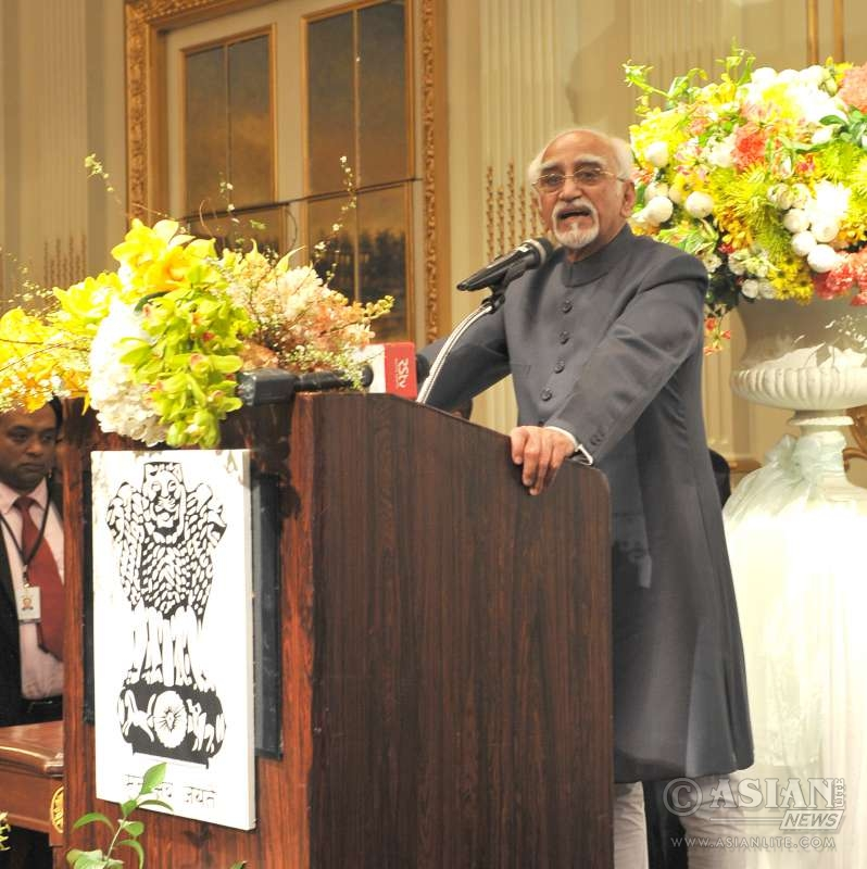 Indian Vice President Mr M. Hamid Ansari  (File)