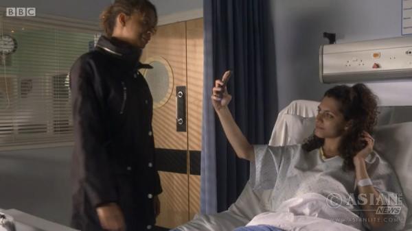 Nicole Abraham in BBC One's Doctors