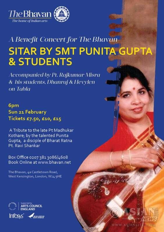Sitar Maestro Punita Gupta