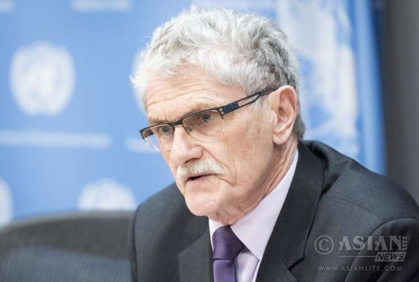 United Nations General Assembly President Mogens Lykketoft