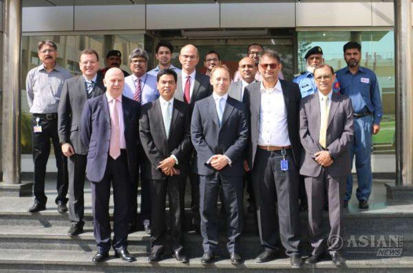 The British High Commissioner-designate, Thomas Drew CMG in Karachi