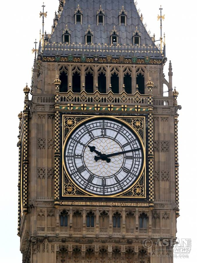 SILENT BEN: London's famous Big Ben is to be given a 43-million-U.S.-dollar facelift, the British Parliament announced Tuesday. A three-year program of work will begin early in 2017. It will mean the clock being switched off and the bell silenced for a period of time while the work is carried out.