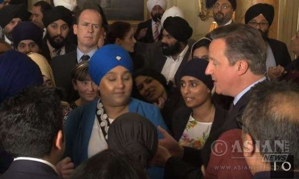 Cameron celebrates Vaisakhi with the Sikh community at No 10