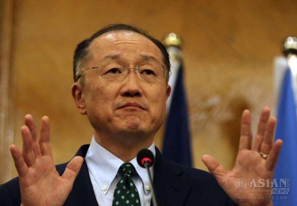 World Bank President Jim Yong Kim Pic:IANS