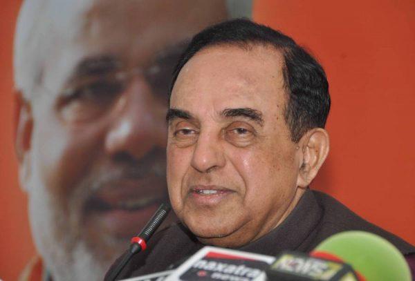 BJP Leader Subramaniam Swamy