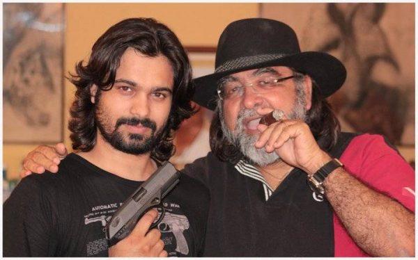 Ad Guru Prahlad Kakar with actor Hiamsnhu M Sharma