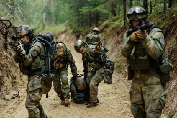 Those serving the military are highly prone to Post Traumatic Stress Disorders