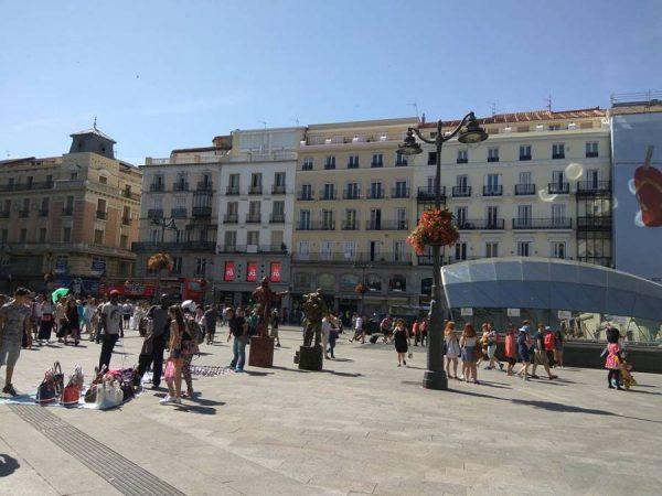 Gran Via, Madrid, Espana
