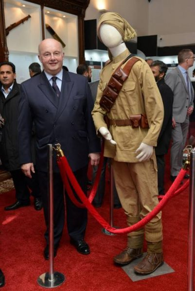 Lord Lieutenant of Manchester Mr Warren Smith at Muslim Heritage Centre