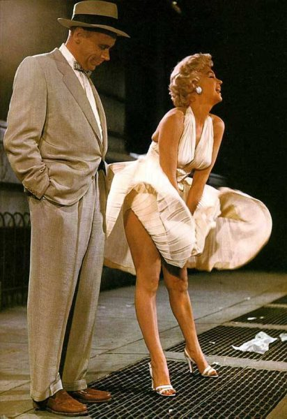 Marilyn Monroe's iconic scene in The Seven Year Itch (1955) 2