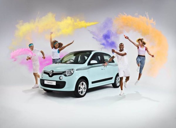 Renault celebrates sponsorship of The Color Run with special edition Twingo  (1) LEAD