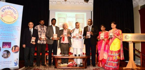 The Book is launched by the writer and eminent personalities from the world of Art, Culture and Literature