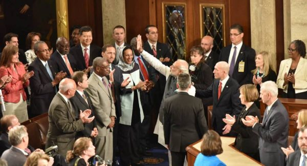 Prime Minister Narendra Modi meets the US Congress members, before his address to the Joint Session, at Capitol Hill, in Washington DC, USA