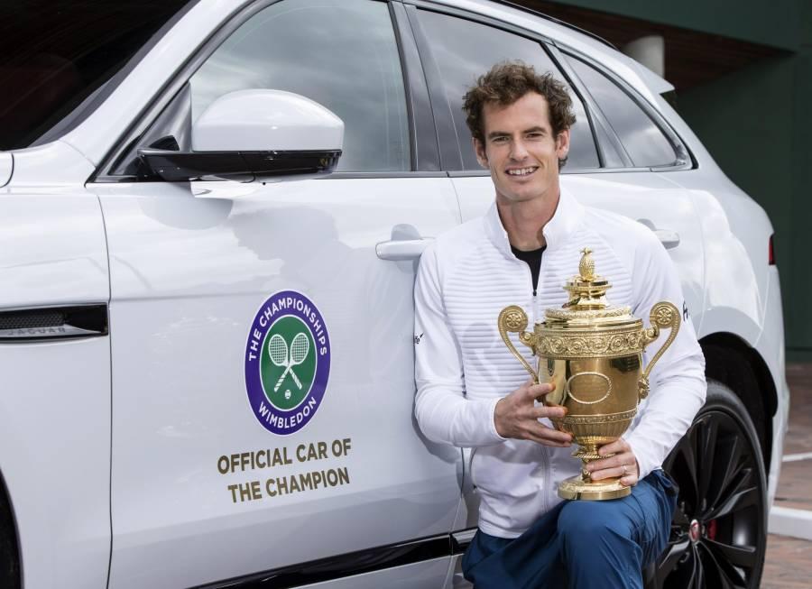 1219857_98872jag_Jaguar celebrate Andy Murray's Wimbledon Victory