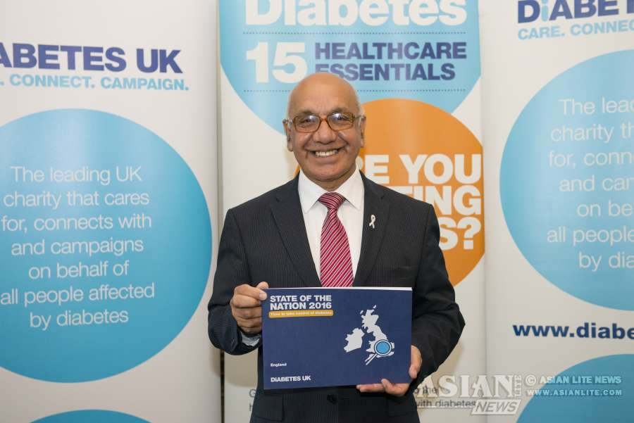 Ealing Southall MP Virendra Sharma backs call for local action to improve the care and support for people with diabetes and provide more access to diabetes education