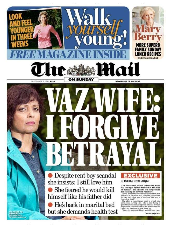 Daily Mail Vaz Wife