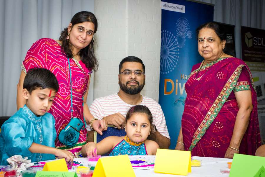 ASDA Navratri Rangoli Event