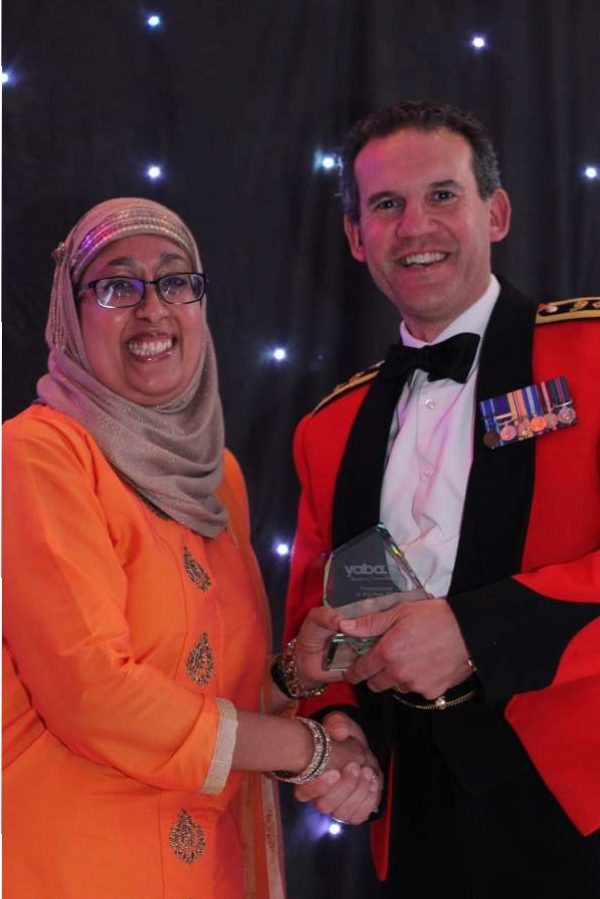 YABA AWARDS: Yorkshire honours Asian talents- Morrison's Noor Ali receives professional of the year award