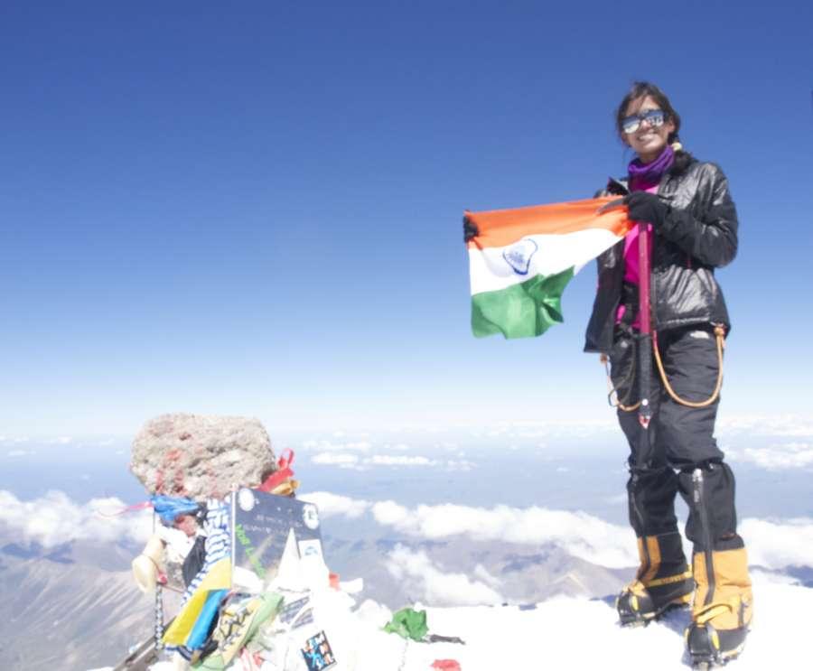Twin mountaineers Nungshi and Tashi Malik